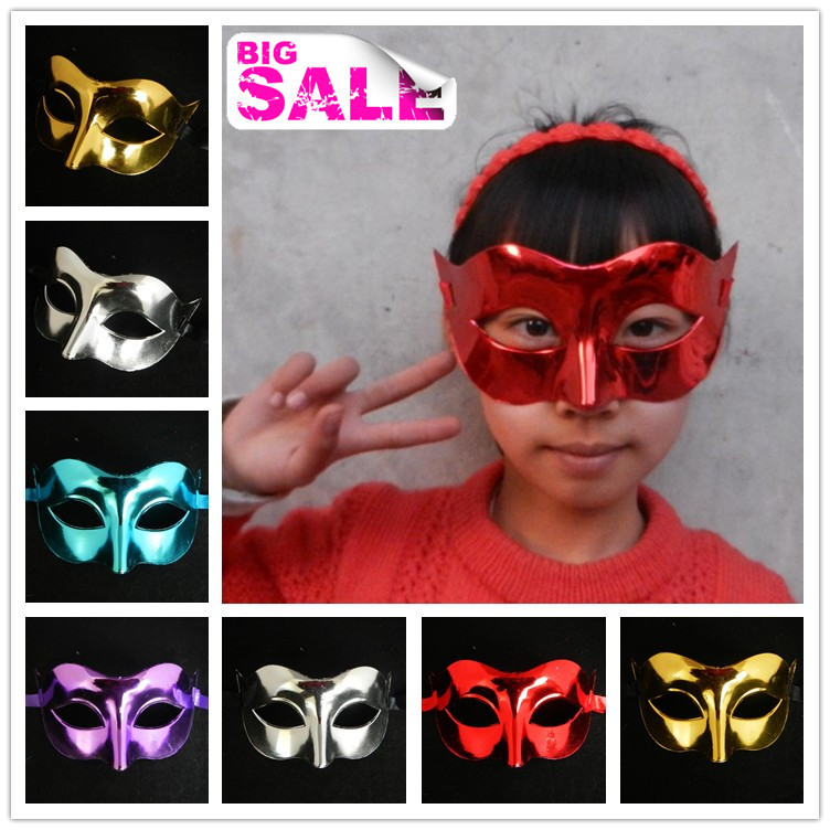 gold half face party masks venetian masquerade ball decoration carnival mardi gras costume mix color free