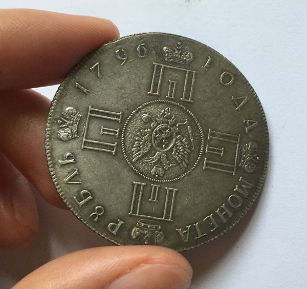Whole 1796 Russian Coins 1 Rouble 100 Coper Manufacturing Old