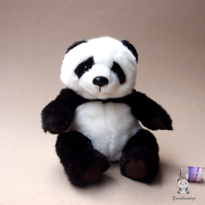 Plush Panda Toy  Simulation Panda Doll  Stuffed Toys Super Kawaii
