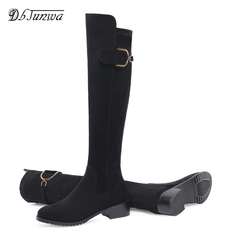 2019 Women Over The Knee High Boots Slip on Winter Shoes Thin High Heel Martin Boots Stretch Suede Over The Knee Boots2019 Women Over The Knee High Boots Slip on Winter Shoes Thin High Heel Martin Boots Stretch Suede Over The Knee Boots