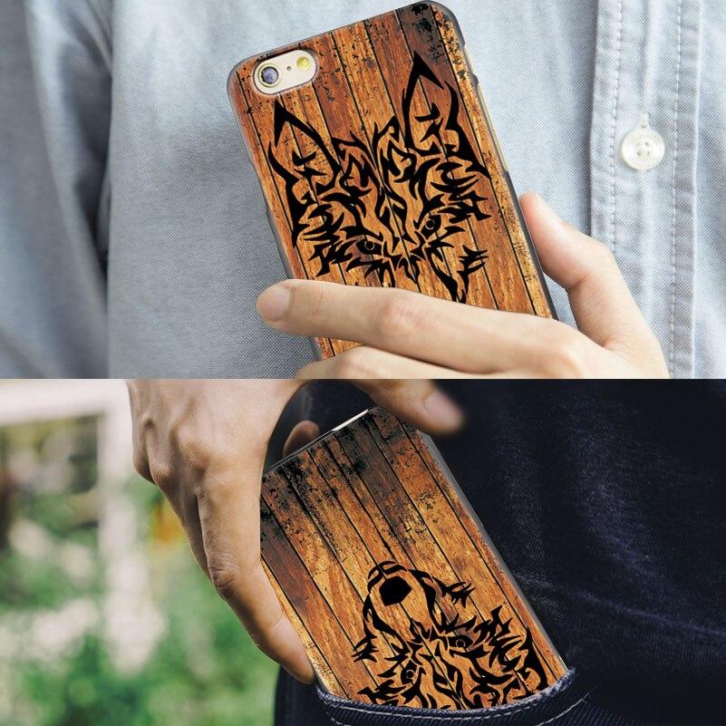 Mewah imitasi tinggi bambu kayu kasus telepon untuk iphone 5 5 s 6 6 - Aksesori dan suku cadang ponsel - Foto 6
