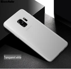 Image 2 - For Samsung Galaxy S9 S9 Plus S10E S10 Plus 0.3mm Ultra Thin Matte Plastic Back Cover Case for Samsung S9 Plus Fashion Case
