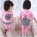 Female spring child clothing children spring and autumn set