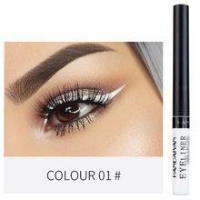 HANDAIYUAN Eyeliner 12 Color Pencil for Eyes Liquid Shadows Makeup Matte Glitter EyeLiner Cosmetics Women Eye
