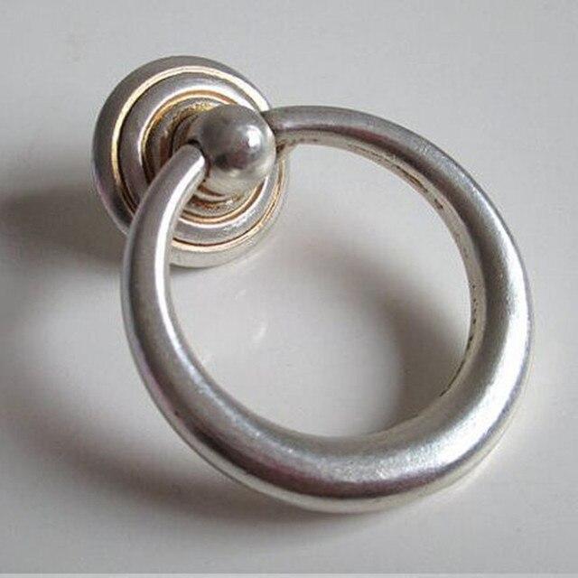 Vintage not silber tropfen ringe drwer möbelknöpfe zieht antike ...