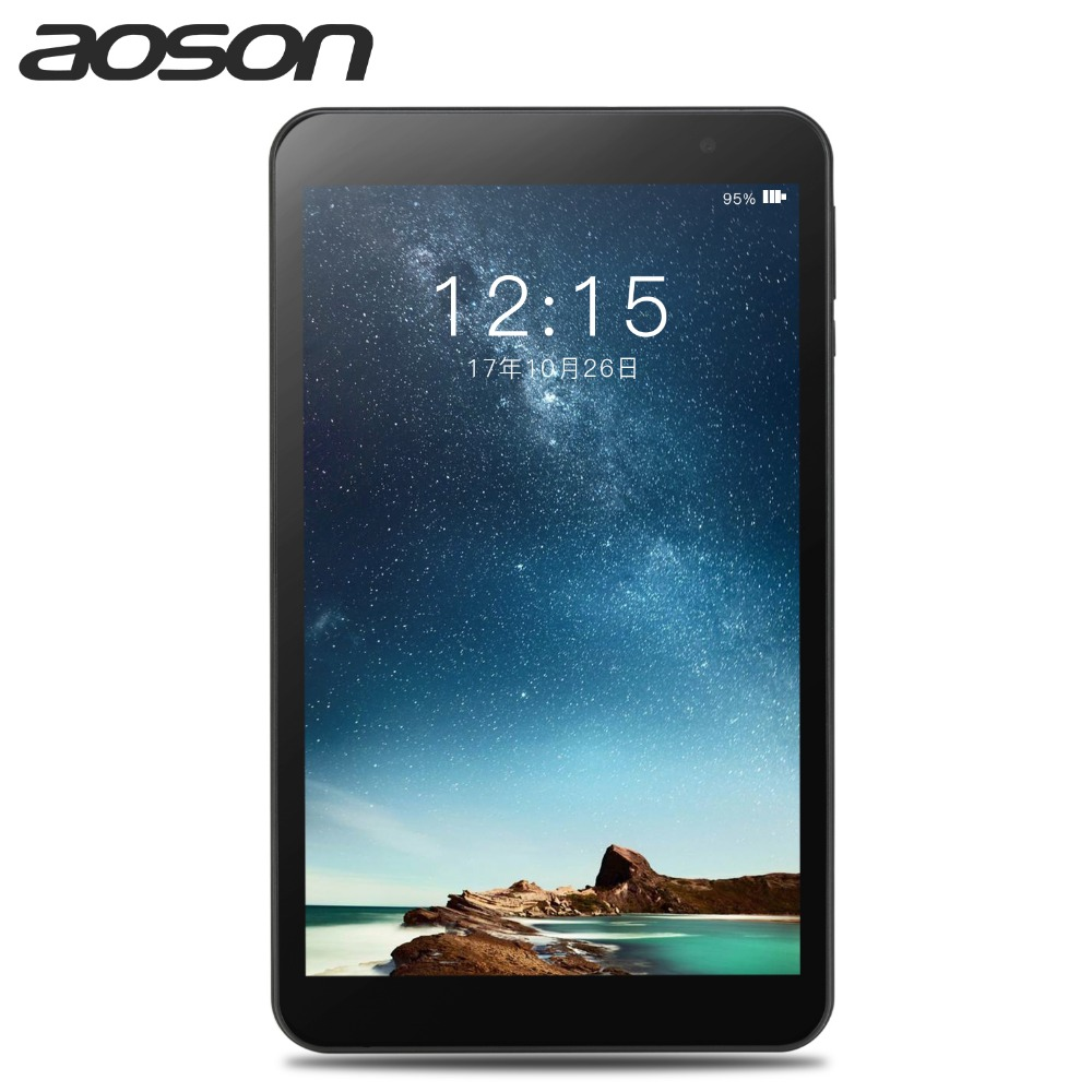Aoson M815 8 inch Android 7.0 Tablets PC 2GB+32GB Quad Core Dual Camera 1280*800 Bluetooth External WIFI The tablet
