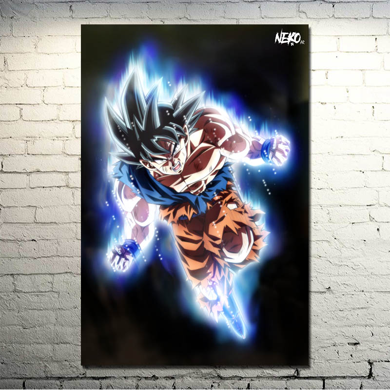 Dragon Ball Z – Goku Fighting Japan Anime Art Silk Canvas Poster 13×20 24×36 inch Wall Pictures (click see to more)-002