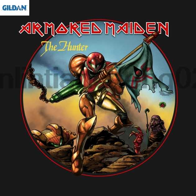 Футболка GILDAN Armored Maiden