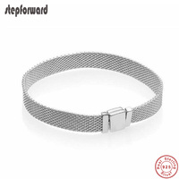 New Collection 925 Sterling Silver Simple Reflexions Bracelet High Quality Popular Fashion Bracelets For Women Gift