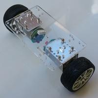 Upright car frame of two wheeled self balancing vehicle wheel frame of intelligent car chassis balance Car Kit