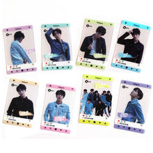 SGDOLL Kpop Bangtan Boys BTS LOVE YOURSELF Tear PVC Transparent Ins Screenshot Cards(China)