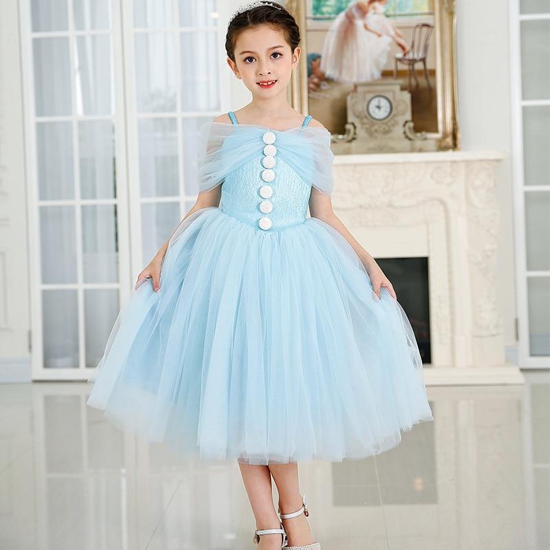 Fashion tulle lace dress baby girl kids tutu dress Children's Costume Party Princess Wedding Toddler Birthday infant dresses цена и фото