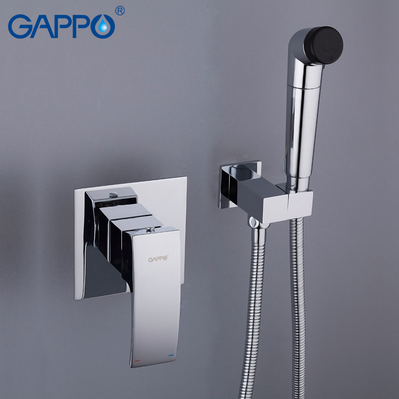 GAPPO Bidet Faucets handheld shower washer tap mixer muslim toilet shower wall mount enema shower head gappo bidet faucets muslim shower toilet bidets sprayer hygienic shower wall mount washer mixer tap