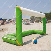 Free shipping Airtight/sealed Inflatable Football Goal Soccer Ball Goal(Free blower and Free shipping)