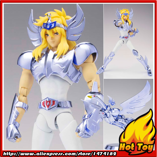 100% Original BANDAI Tamashii Nations Saint Cloth Myth EX Action Figure - Cygnus Hyoga(New Bronze Cloth) from Saint Seiya saint cloth myth ex pegasus seiya new bronze cloth from saint seiya action figure