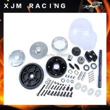 Engine parts 2 speed metal gear set of baja 5B (1:5 scale), Baja 2 speed transmission