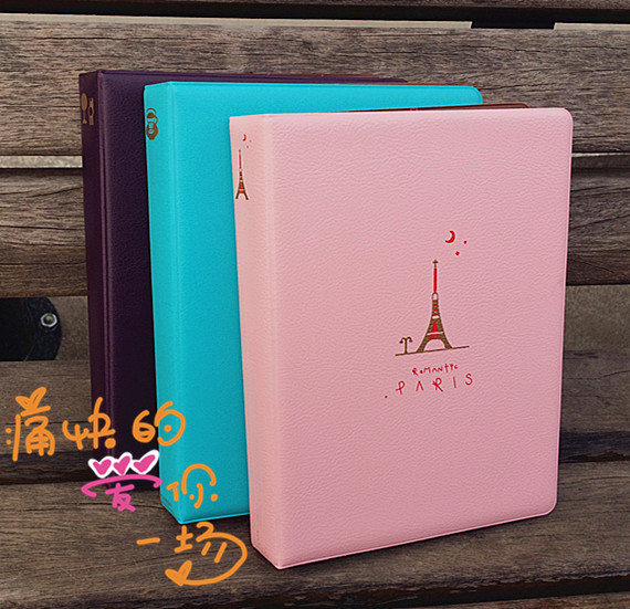 The new 5 inch album page type photo album album baby lovers recorded into the 80 commemorative gift ideas