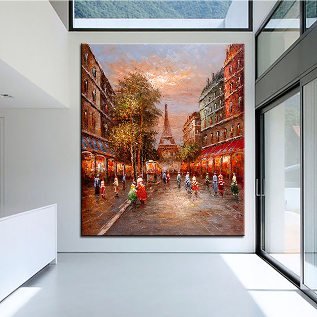 extra large wall painting
