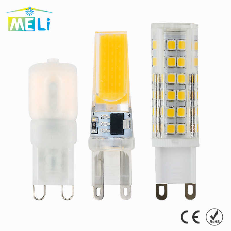 G9 Led Lamp Bulb 220V 3W 5W 7W 9W 10W 12W 15W COB SMD Mini LED G9 Bulb Light Ceramic 360 Degree Beam Angle Led Spotlight Lamps