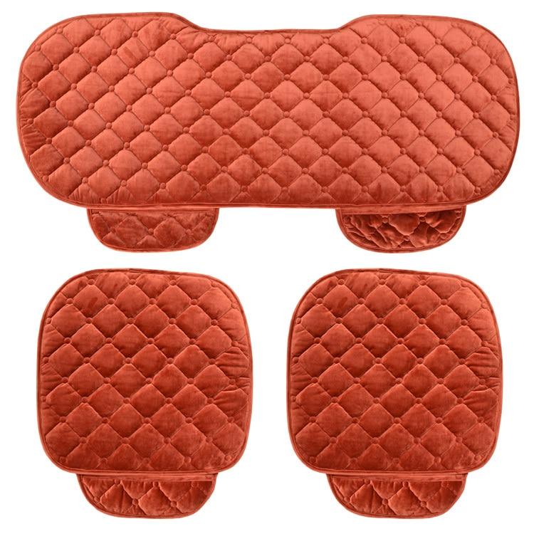 Cojín del asiento de coche cálido y suave funda de asiento de coche - Accesorios de interior de coche - foto 2