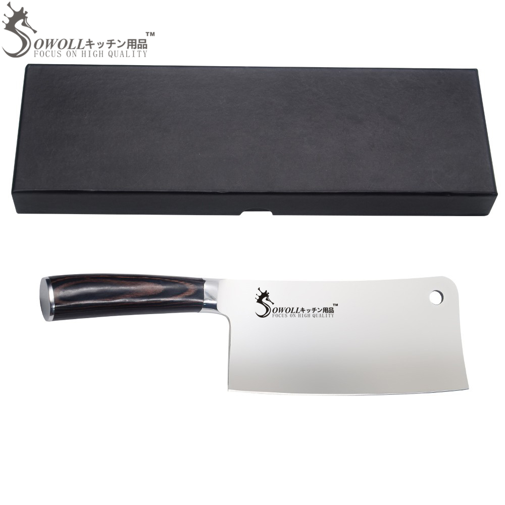 Good Quality Kitchen Knives: SOWOLL Brand Kitchen Knife 7CR17 Stainless Steel 7 Inch