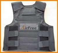 FREE Shipping CONCEALABLE BULLETPROOF VESTPolice Body Armor Size L Black Color