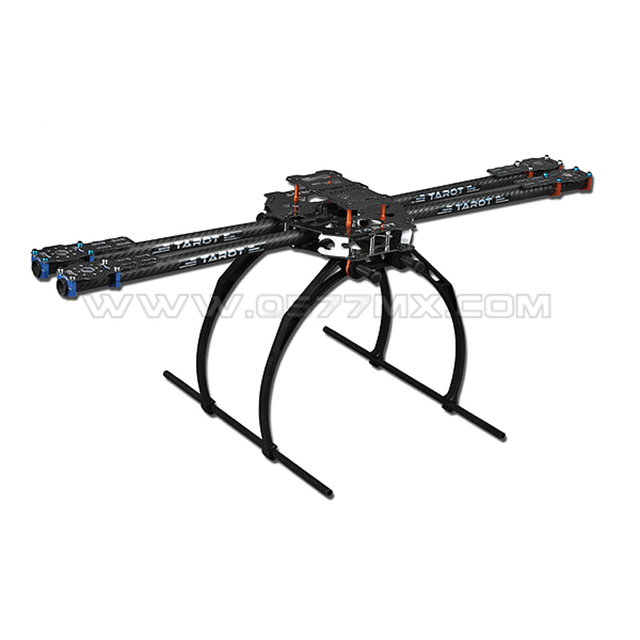 Tarot-rc Camera Drone Professional Accessories Diy Tarot 650 Iron Man Ironman Carbon Fiber Folding Frame Plastic Landing Gear