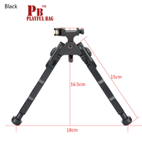 Outdoor sports shooting game sniper ACCU TAC BR 4 infrared foot bracket lamp to shoot two foot 20mm upgrade material gel ball gu