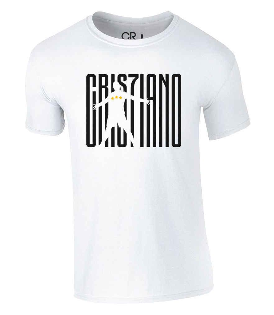 Camiseta cristiana Ronaldo CR 7 Juve fútbol Trikot Cool Casual pride camiseta hombres Unisex moda camiseta envío gratis