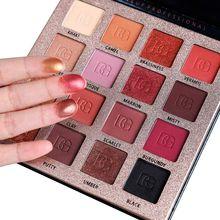 Women Eyeshadow Makeup Palette Nude eyeshadow palette Cosmetic Matte Shimmer Pallete Waterproof LongLasting Kit