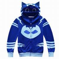 Cosplay Costumes P J Boy S Coat Mask Children Sweatshirt Boys Hoodies Kids Jacket Connor Greg