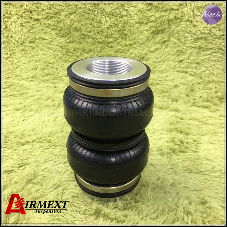 SN108160BL2 BCR Fit BC coilover BR Thread M53 2 Air suspension Double convolute rubber airspring airbag