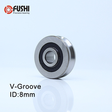 V082207 V паз герметичный шариковый подшипник(4 шт.) 8*22*7 мм шкив колеса подшипники V2.5/1 V3/1 V3/1,5 направляющий трек Rlooer подшипник