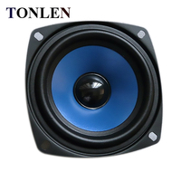 TONLEN 2PCS 3 5 Inch Full Range Speaker 4 Ohm 15 W DIY HIFI Portable PC