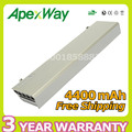 Apexway 4400mAh 11.1v battery for Dell Latitude ATG E6400 XFR  E6410 E6500 E6510 Precision M2400  M4500  W1193 GU715  H1391