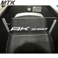 MTKRACING Motorcycle For KYMCO AK550 2017 Accessories Motobike Compartment Luggage Compartment Isolation Plate
