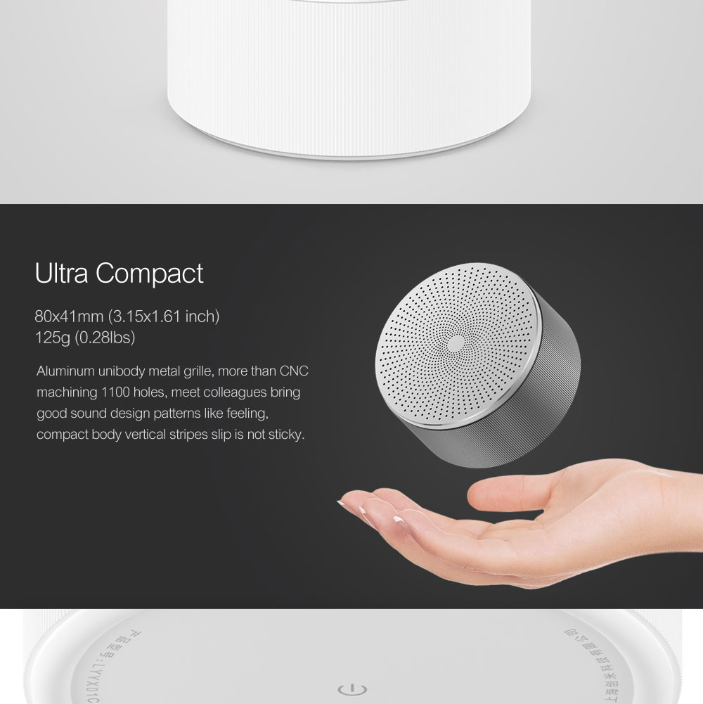 Xiaomi Mi Bluetooth Speaker Stereo Wireless Mini Portable Bluetooth Speakers Music MP3 Player Small Steel Round Speaker 100% Original  (9)
