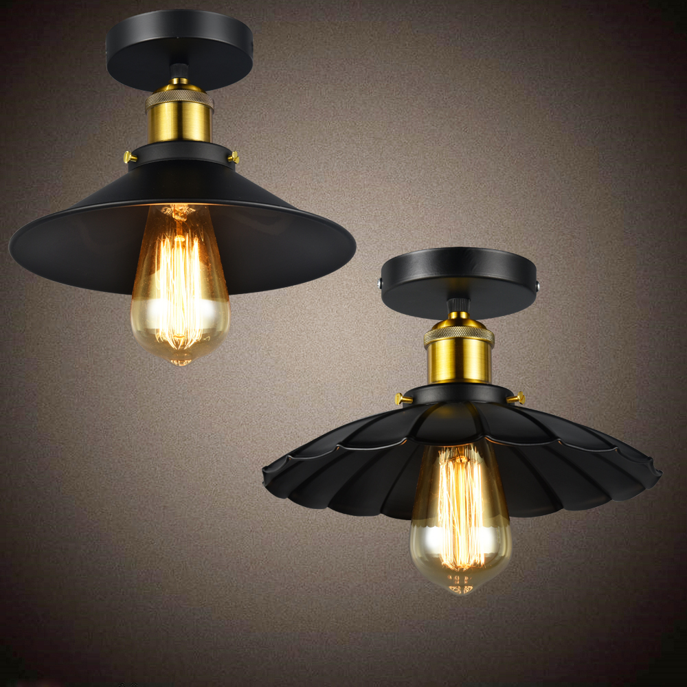 Russia Vintage Ceiling Lights Black Industrial Dining