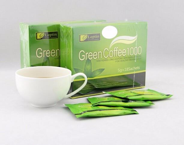 groene koffiebonen afslanken