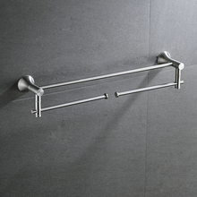 Beelee  Wall Mounted Bathroom Towel Holder Stainless Steel Bar/Rail BA3201SS