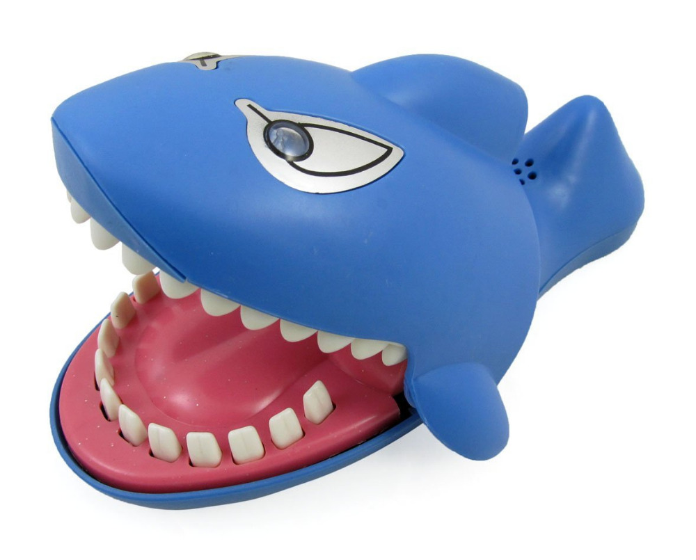 Litchi Shark Dentist Game for Kids(Evil Laughter,Glowing Eyes,More Fun Than Crocodile)