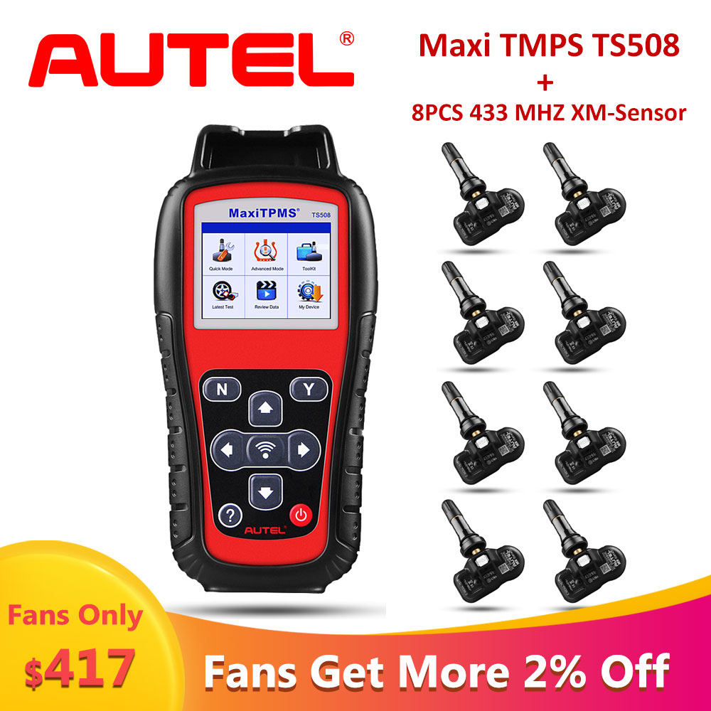 Worldwide delivery autel ts508 in Adapter Of NaBaRa