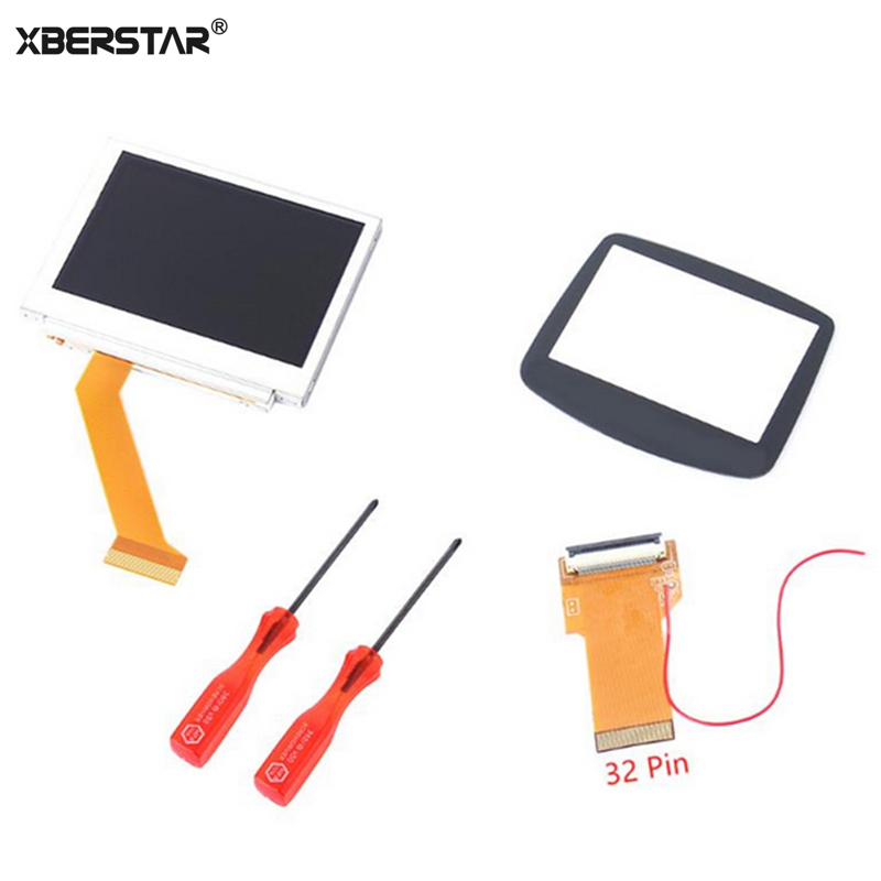 XBERSTAR Replacement 32Pin 40 Pin For Gameboy Advance MOD LCD Backlight Kit Cable adapter for GBA SP AGS-101 Backlit Screen Mod