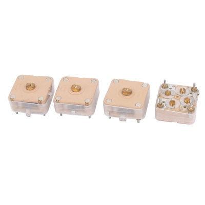 Capacitancia 444HF 20pF*2 medio variodence Ajustable 4 un Condensador variable