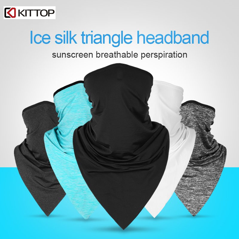 Apparel Accessories Gentle Summer Outdoor Sports Scarf Cycling Bandana Bicycle Equipment Headwear Ride Neck Mask Bike Triangle Headband Scarf 10pcs