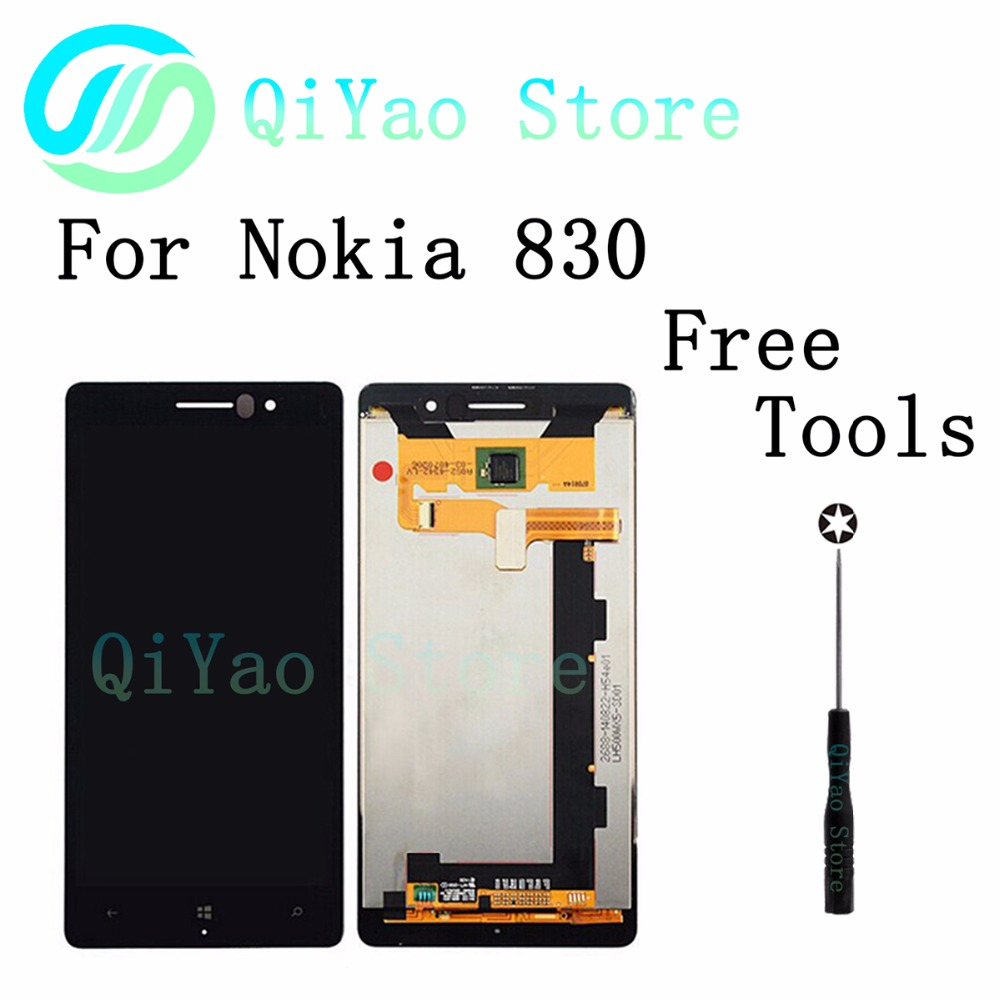 ФОТО 830 LCD for Nokia Lumia 830 LCD Display with Touch Screen Digitizer Assembly Free Shipping