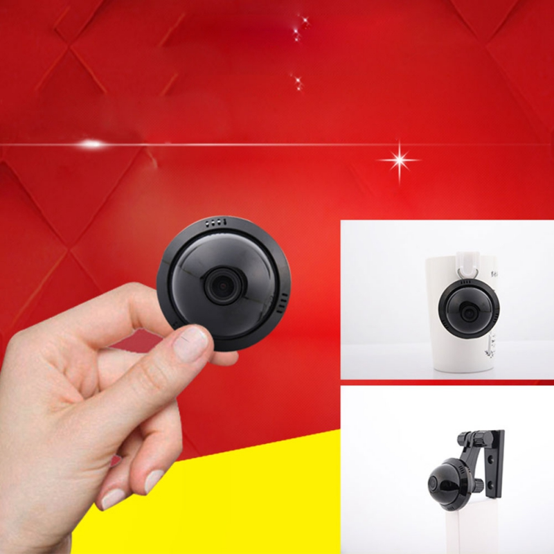 Camera Monitor-Accessories Surveillance-Camera Wifi-Network Night-Vision Smart Wireless