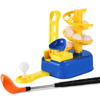 Champkey Golf Toys Set, Golf Ball Game, Golf Learning, Active, Early Educational,Birthday Gifts for 3 7 Year Olds