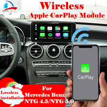 Беспроводной Apple CarPlay Android автоматическая машина коробочного модуль для всех Mercedes Benz NTG4.5/NTG 5,0 Системы W204 W205 W212 W176 W246 W253 класс