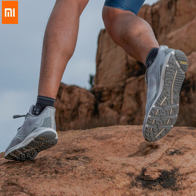Xiaomi Mijia Amazfit Antelope Men's Running Shoes Outdoor  sneakers for men Smart sport shoes zapatillas hombre Chip APP Control 5